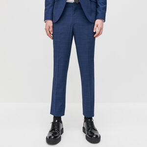 Reserved - Kostkované oblekové kalhoty -