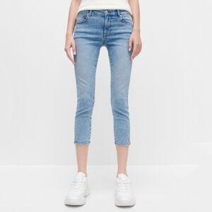 Reserved - Dámské jeans kalhoty - Modrá