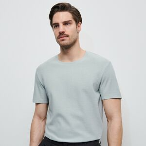 Reserved - Jednobarevné tričko - Světle šedá