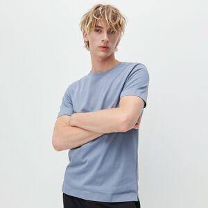 Reserved - Jednobarevné tričko basic - Šedá