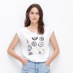 Reserved - Tričko s potiskem - Bílá