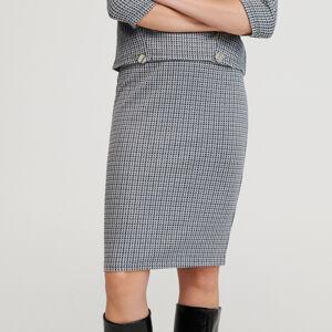 Reserved - Vzorovaná sukně - Vícebarevná
