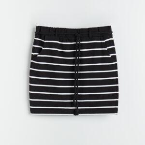 Reserved - Sukně zorganické bavlny - Černý