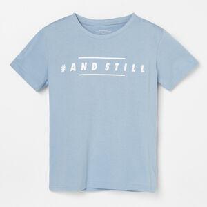 Reserved - Bavlněné tričko s potiskem -