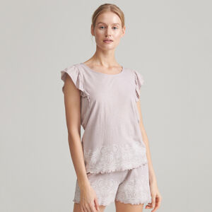 Reserved - Pyžamo so šortkami - Hnědá