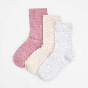 Reserved - Dámské ponožky - Krémová
