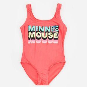 Reserved - Jednodílné plavky Minnie Mouse - Růžová