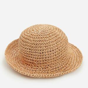 Reserved - Pletený klobouk zpapírové slámy - Béžová