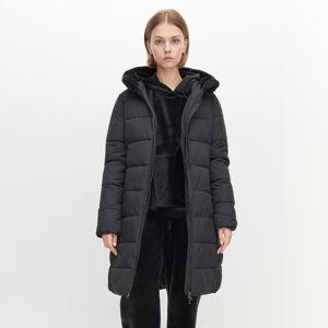 Reserved - Zateplený kabát - Černý
