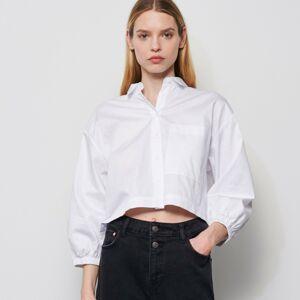 Reserved - Košile se širokými rukávy - Bílá