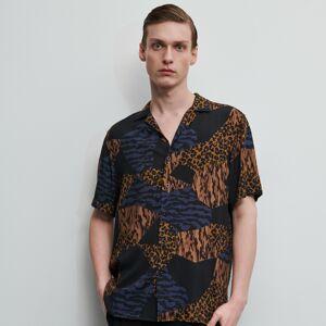 Reserved - Vzorovaná košile - Vícebarevná