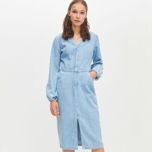 Reserved - Džínové šaty - Modrá