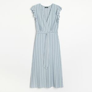 Reserved - Ladies` dress - Modrá