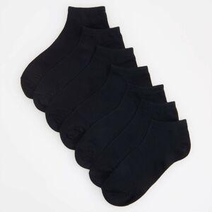 Reserved - Členkové ponožky, 7-Balenie - Černý