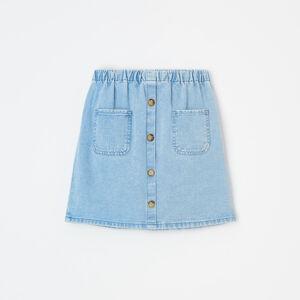 Reserved - Bavlněná mini sukně -