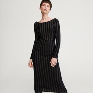 Reserved - Dámské šaty - Černý
