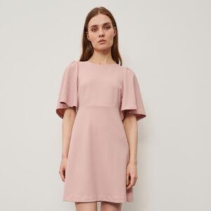 Reserved - Šaty se širokými rukávy - Růžová