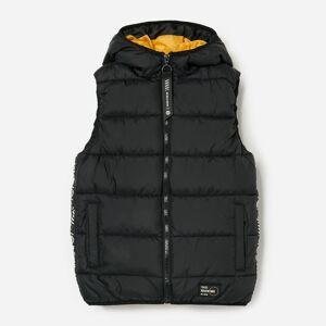 Reserved - Prošívaná vesta - Černý