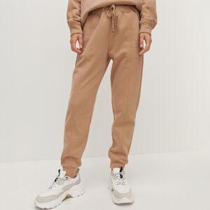 Reserved - Dámské kalhoty - Béžová