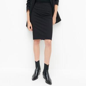 Reserved - Úpletová sukně - Černý