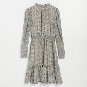 Reserved - Šaty se stojáčkem - Vícebarevná