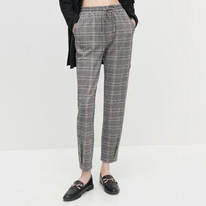 Reserved - Dámské kalhoty - Světle šedá
