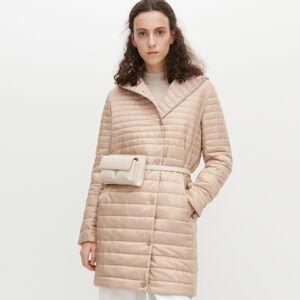 Reserved - Prošívaný kabát - Béžová