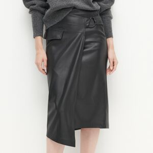 Reserved - LADIES` SKIRT - Černý