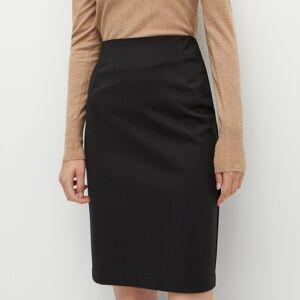 Reserved - Pouzdrová sukně - Černý