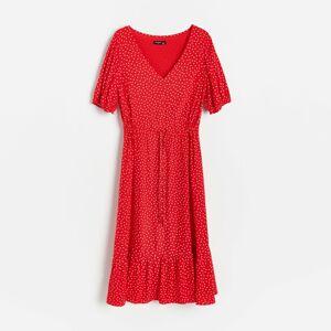 Reserved - Ladies` dress - Červená