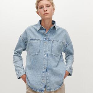 Reserved - Džínová košile - Modrá