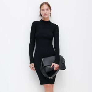Reserved - Žerzejové šaty - Černý
