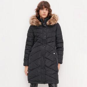 Reserved - Dámský kabát - Černý