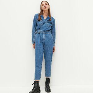 Reserved - Ladies` jumpsuit - Modrá