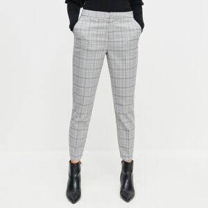 Reserved - Kostkované kalhoty - Vícebarevná