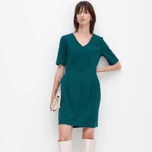 Reserved - Šaty skrátkými rukávy - Tyrkysová