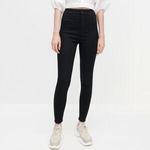 Reserved - Kalhoty z organické bavlny - Černý