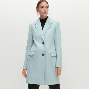 Reserved - Kabát vjednoduchém provedení - Zelená