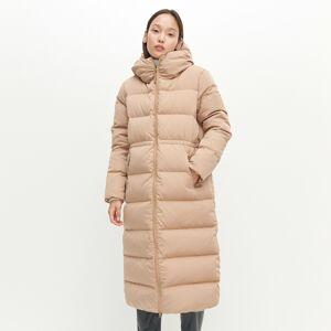 Reserved - Prošívaný kabát sizolací zpřírodního prachového peří - Béžová