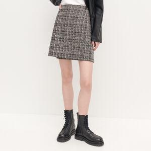 Reserved - Tvídová sukně - Vícebarevná