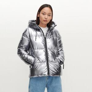 Reserved - Dámská bunda - Stříbrná