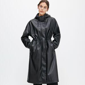Reserved - Koženkový kabát -