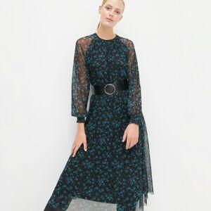 Reserved - Dámské šaty & pásek - Vícebarevná