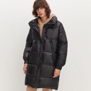 Reserved - Prošívaná bunda oversized - Černý