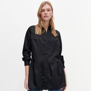 Reserved - Dlouhá košile - Černý