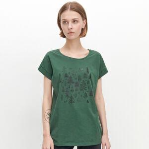Reserved - Dámské tričko - Tyrkysová
