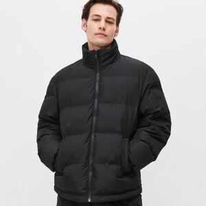 Reserved - Prošívaná bunda se zateplením zrecyklované látky - Černý