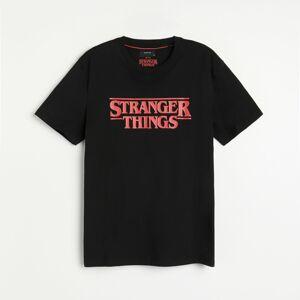 Reserved - Tričko Stranger Things - Černý