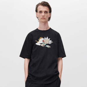 Reserved - T-shirt with Rick And Morty print - Černý