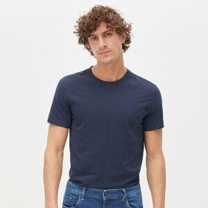Reserved - Hladké tričko zorganické bavlny - Tmavomodrá
